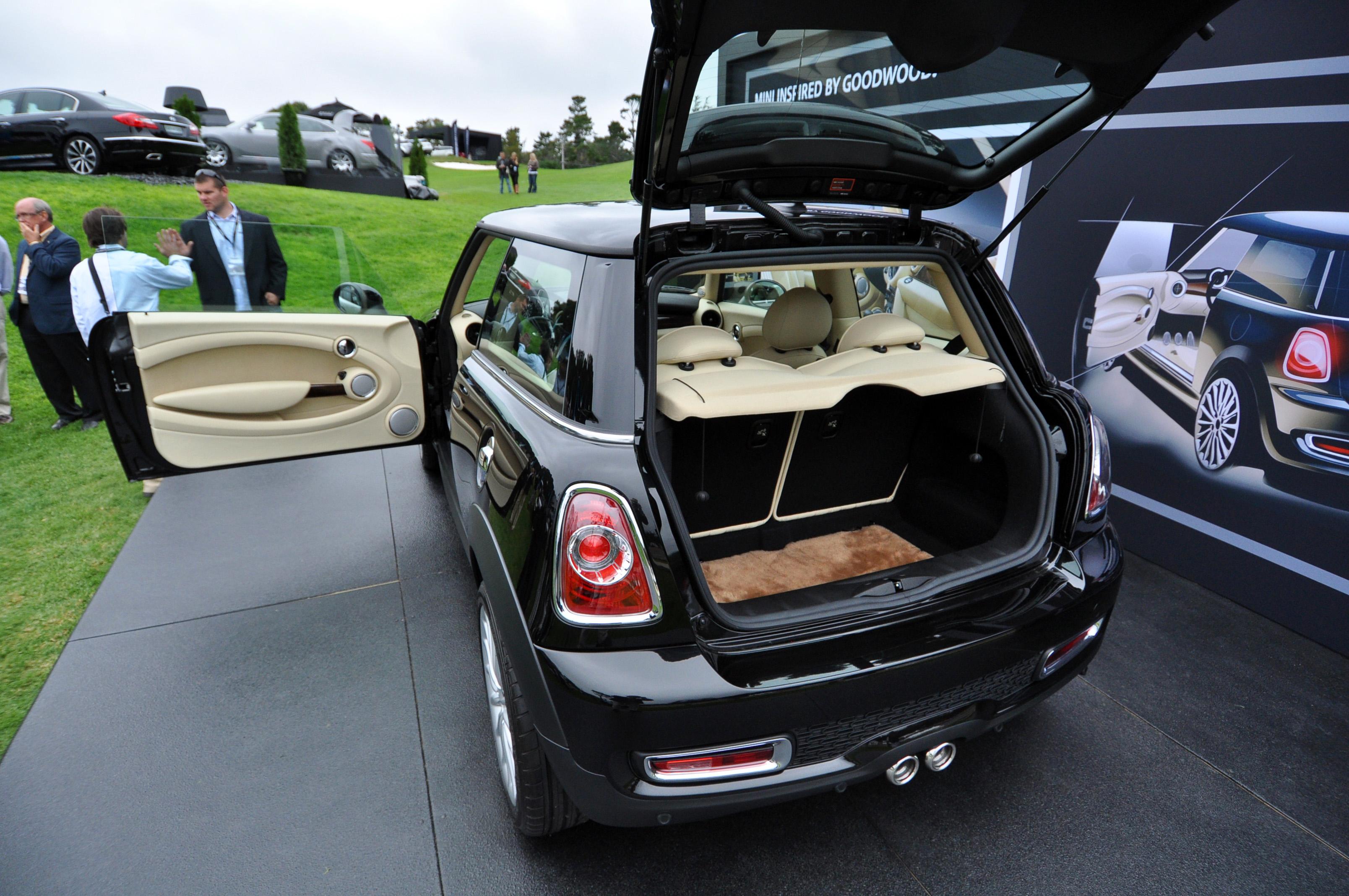 Mini Goodwood Debuts In The Us At Pebble Beach Motoringfile
