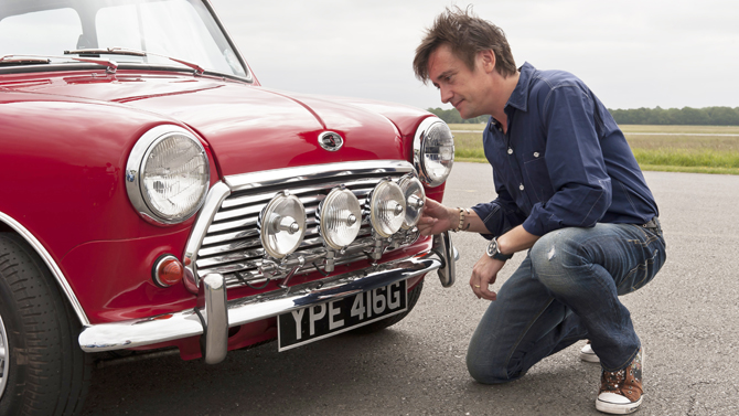 Richard Hammond on the Mini Cooper S MkII