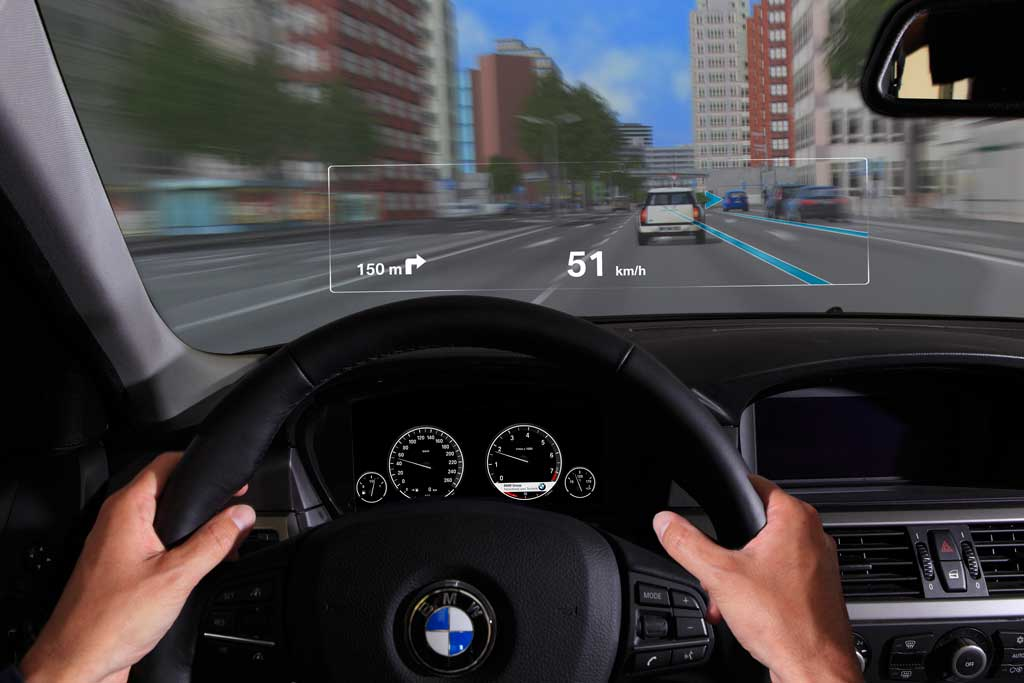bmw group developing augmented reality windshield displays motoringfile. Black Bedroom Furniture Sets. Home Design Ideas