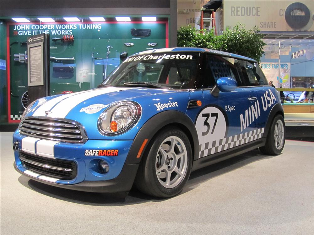 World Premier Mini Cooper B Spec Race Car Motoringfile