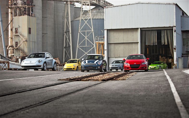 Motor Trend pits the MINI against other quirky rivals