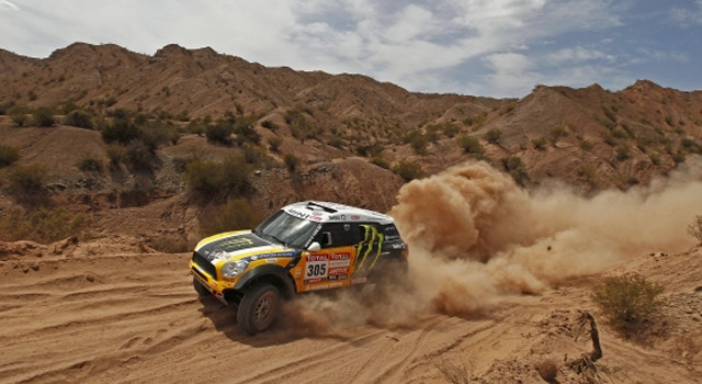 MINI Dominating the 2012 Dakar Rally