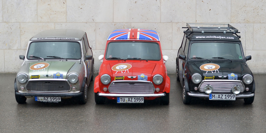Classic Rally Minis