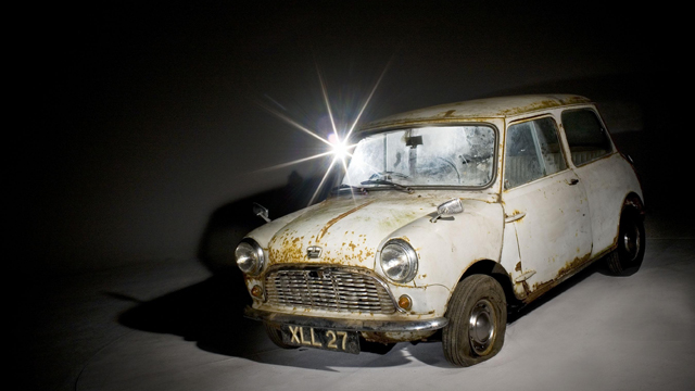 World's Oldest Unrestored Mini