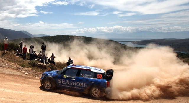 MINI WRC 10th in Greece