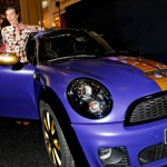 Franca Sozzani MINI Roadster for Life Ball 2012
