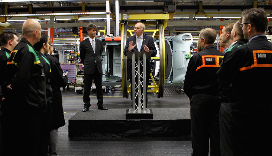BMW Invests £250M in UK Manufacturing