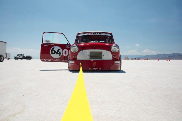 Mini hits 155.96 mph at Bonneville