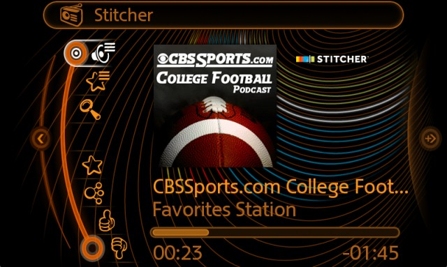 Stitcher App MINI Connected