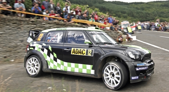 Atkinson 5th in first WRC race