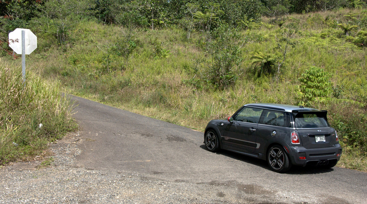 Driving the JCW GP in the Wild