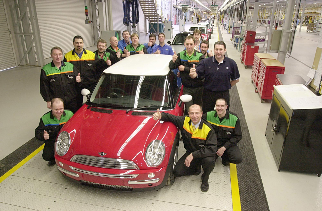 When MINI Came to Oxford – The History of New MINI Production