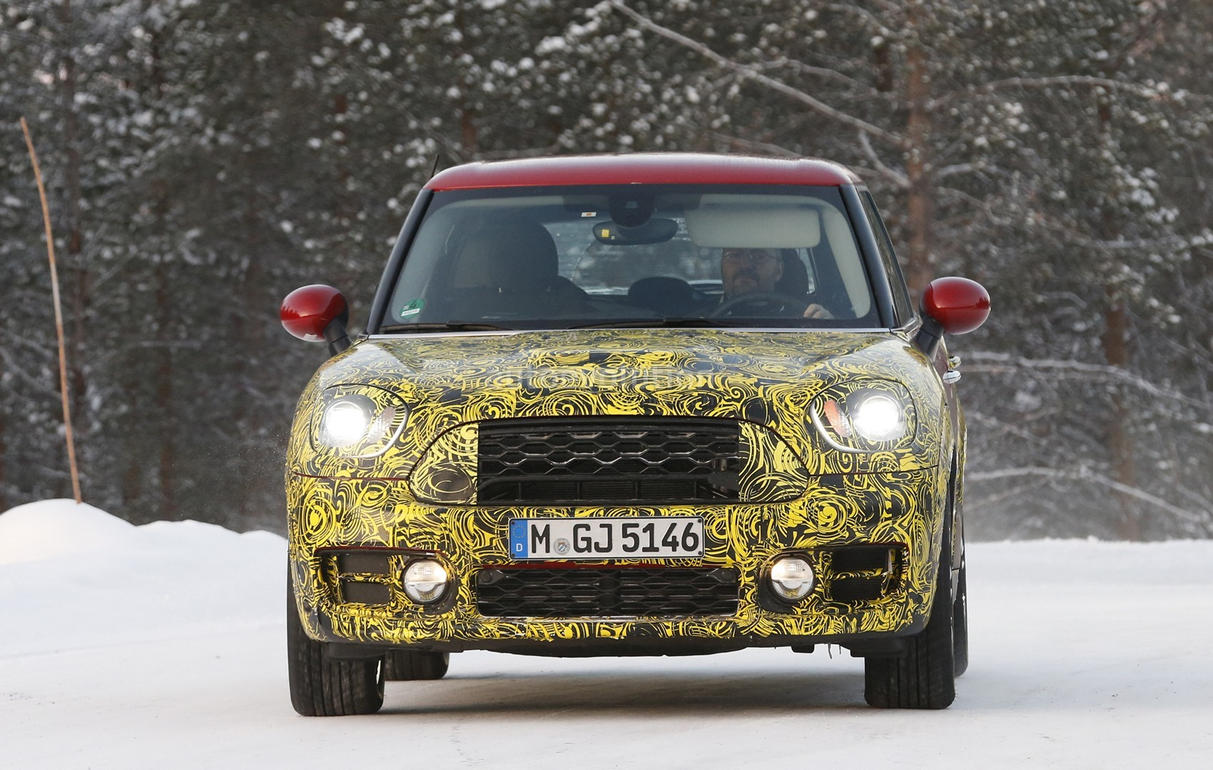 the 2017 mini countryman is days away here 39 s what we know motoringfile. Black Bedroom Furniture Sets. Home Design Ideas