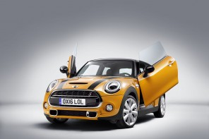 "MINI Introduces 'Lambo Doors"" Option"