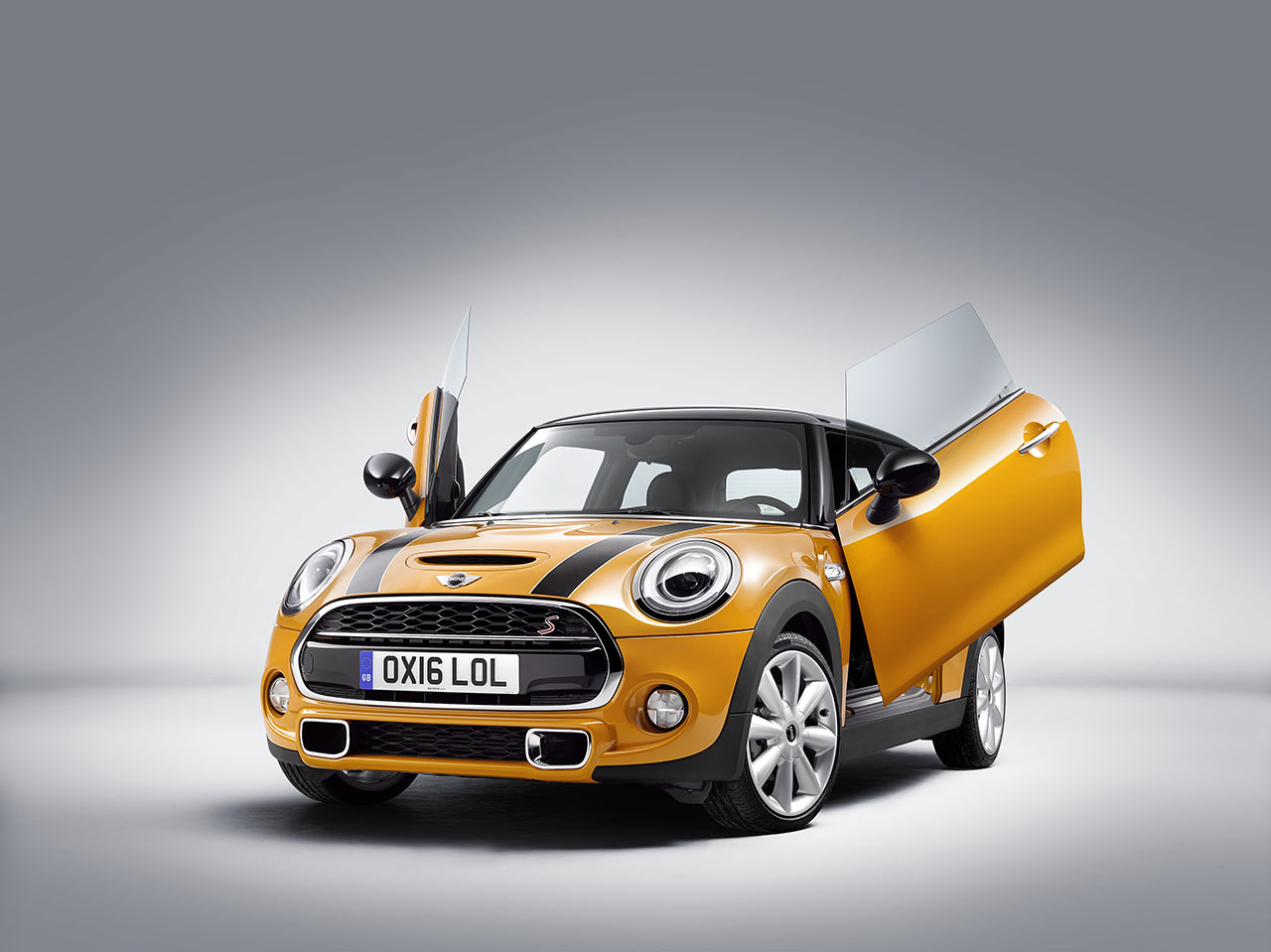 Mini Introduces Lambo Doors Option Motoringfile