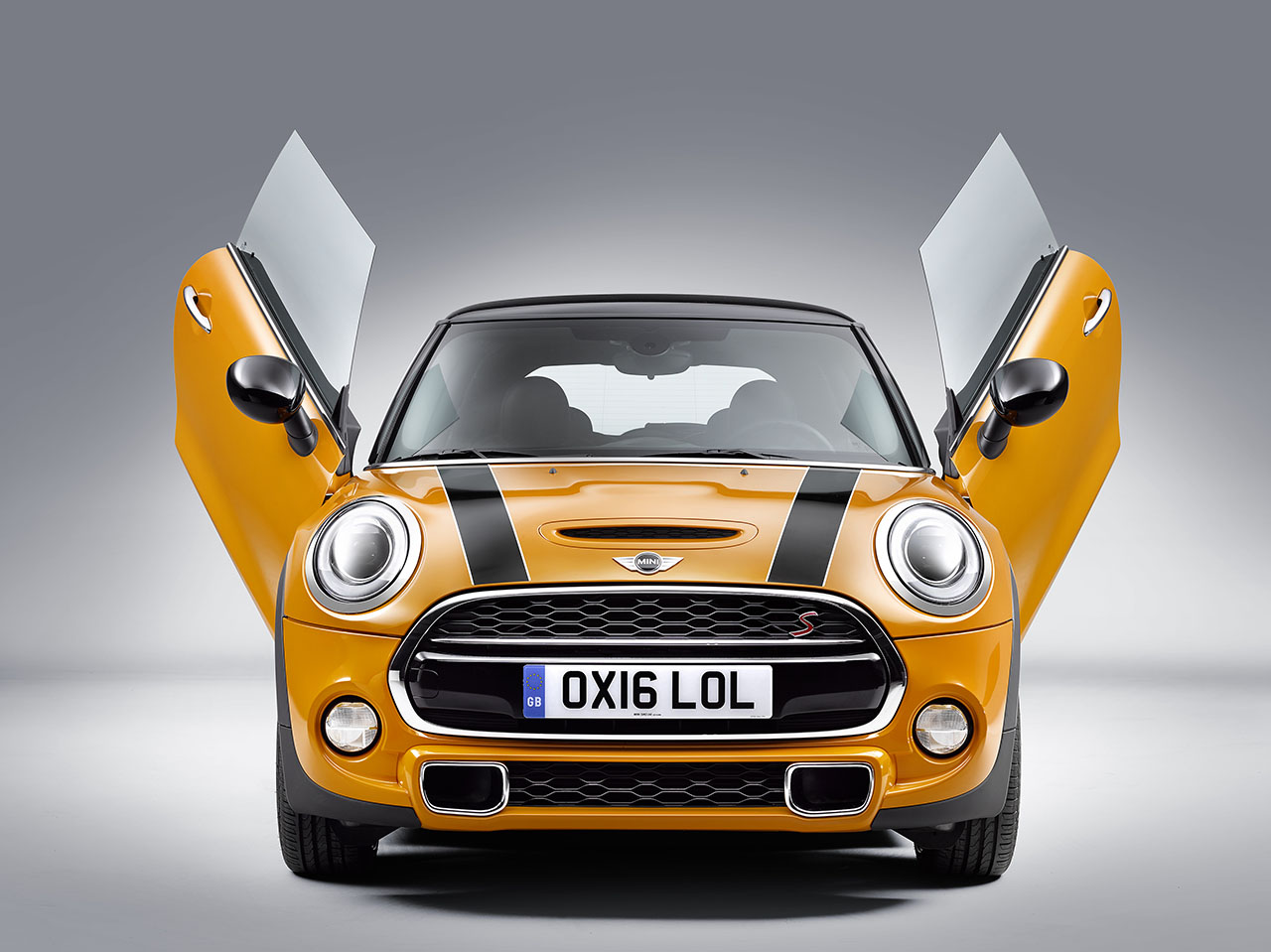 MINI Introduces u0027Lambo Doorsu201d Option : open doors 2017 - pezcame.com