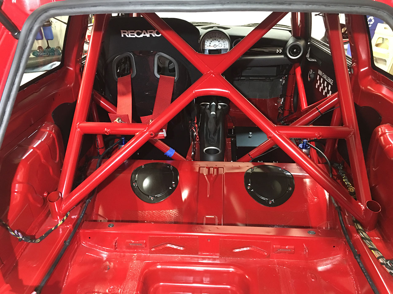 For Sale: Ultra Rare Brand New US Based R56 MINI Challenge Race Car ...