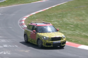 Video: 2017 MINI Countryman JCW in Final Testing at the Nurburgring