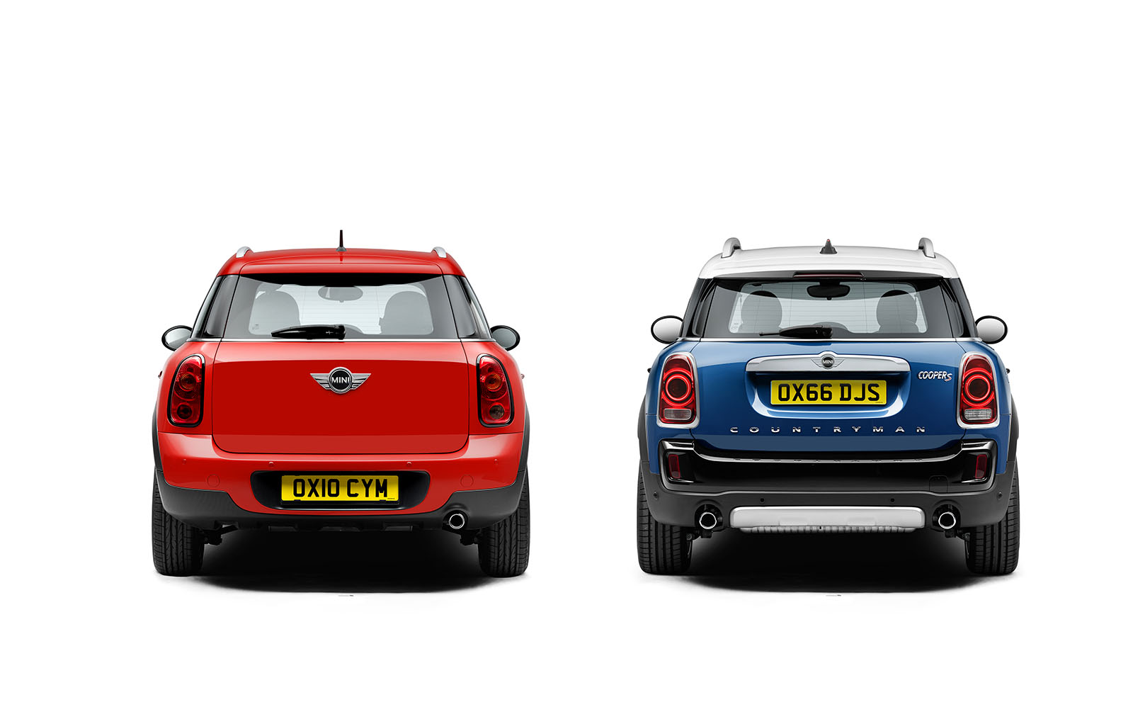 2016 Countryman Vs The 2017 Countryman Visual Differences