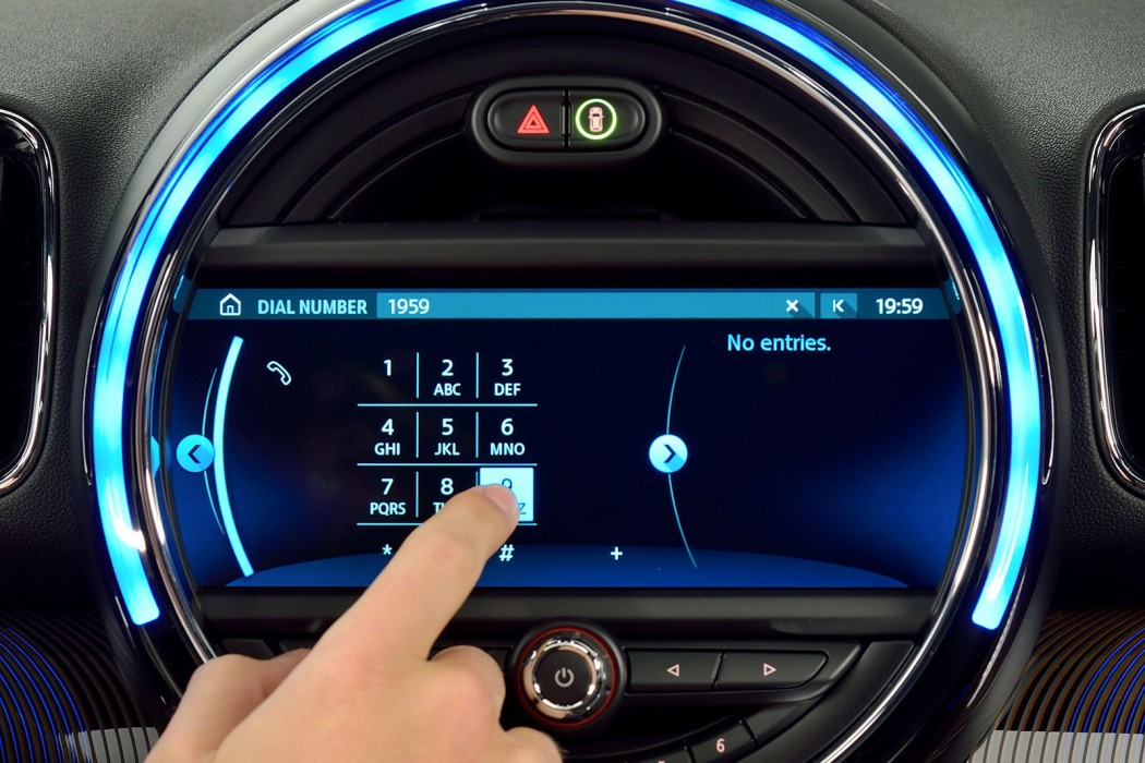 mini s new touchscreen navigation is a huge upgrade motoringfile rh motoringfile com Mini French Bulldogs Austin Mini Cooper