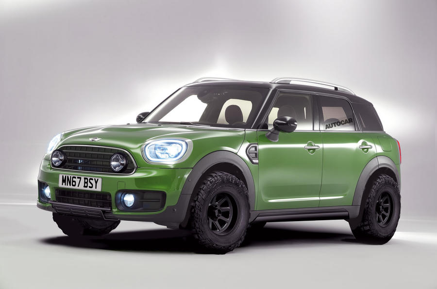 rumor mini to launch more rugged version of the countryman motoringfile. Black Bedroom Furniture Sets. Home Design Ideas