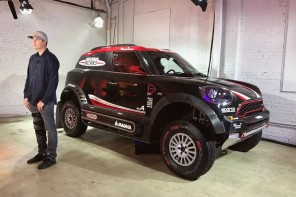 Up-Close and Hands-on With the MINI JCW Dakar Rally Race Car