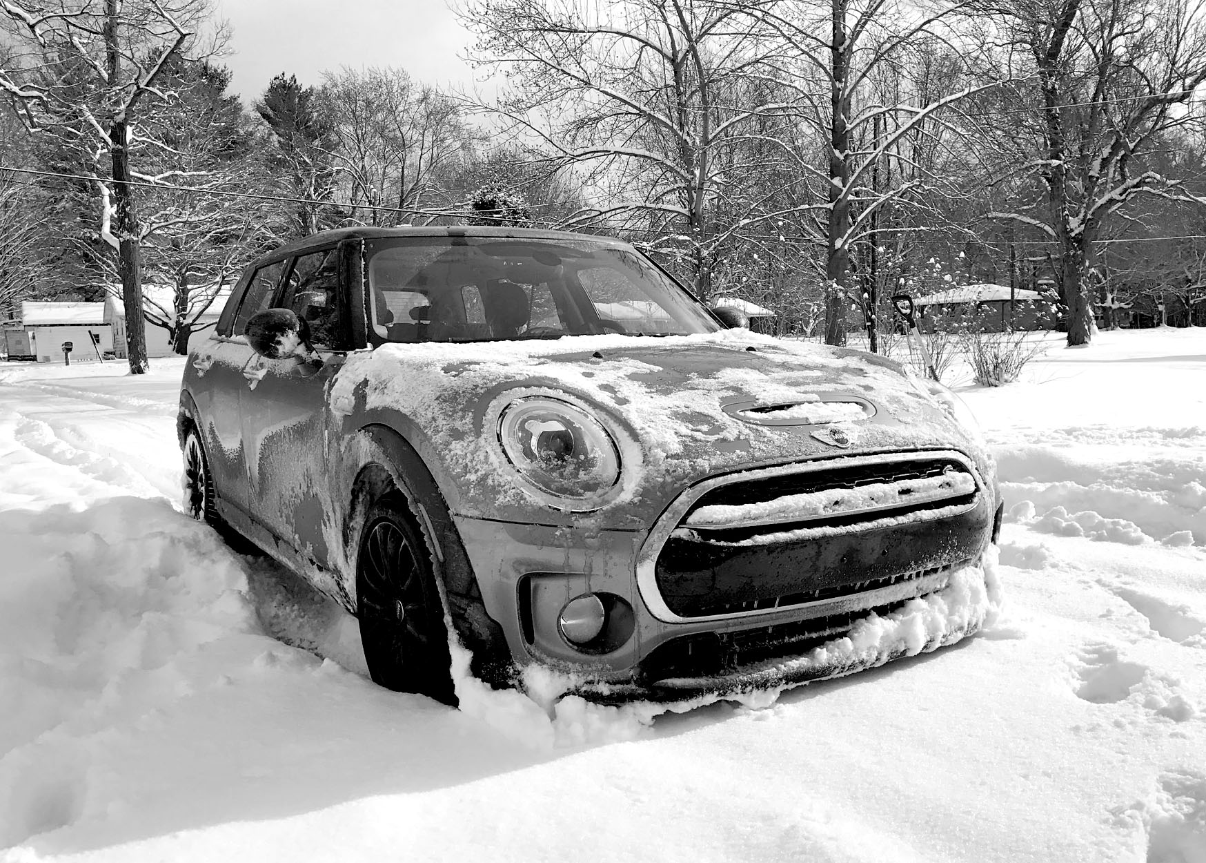 If You Drive A Mini In Snow Do It On Winter Tires Motoringfile