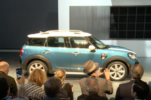 The MINI Countryman Debut at the LA Autoshow