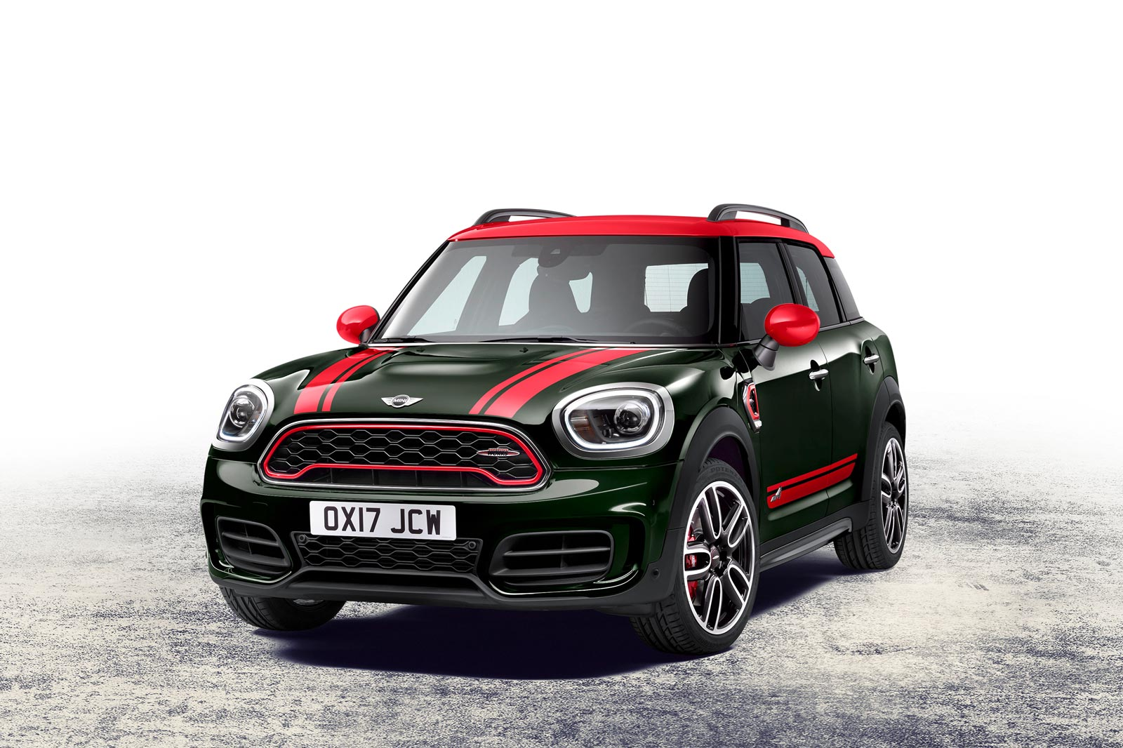 world premier 2017 mini jcw countryman motoringfile. Black Bedroom Furniture Sets. Home Design Ideas