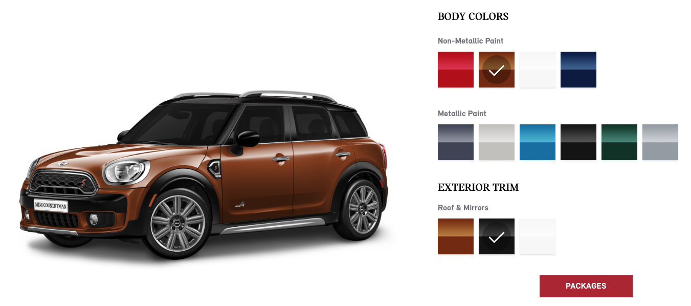 Mini Usa S 2017 Countryman Configurator Is Live Motoringfile