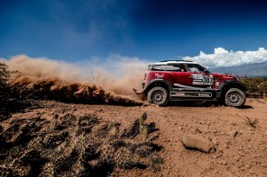 Dakar Stage 4: MINI Continues Assault at the Dakar Moving into 3rd