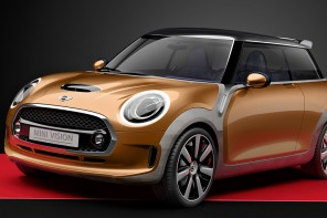 MINI Vision Concept from 2013 was meant to be a preview to the F56.