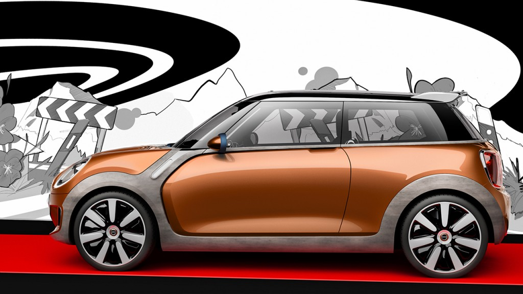 MINI Vision Concept. Note the integrated Air Curtain