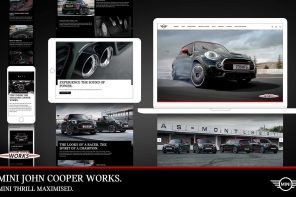MINI Launches New Digital Presence for the JCW Sub-brand