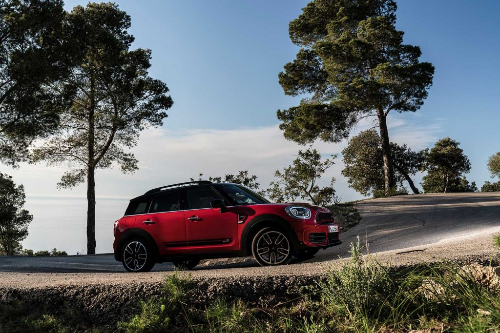 302 hp MINI Countryman & Clubman