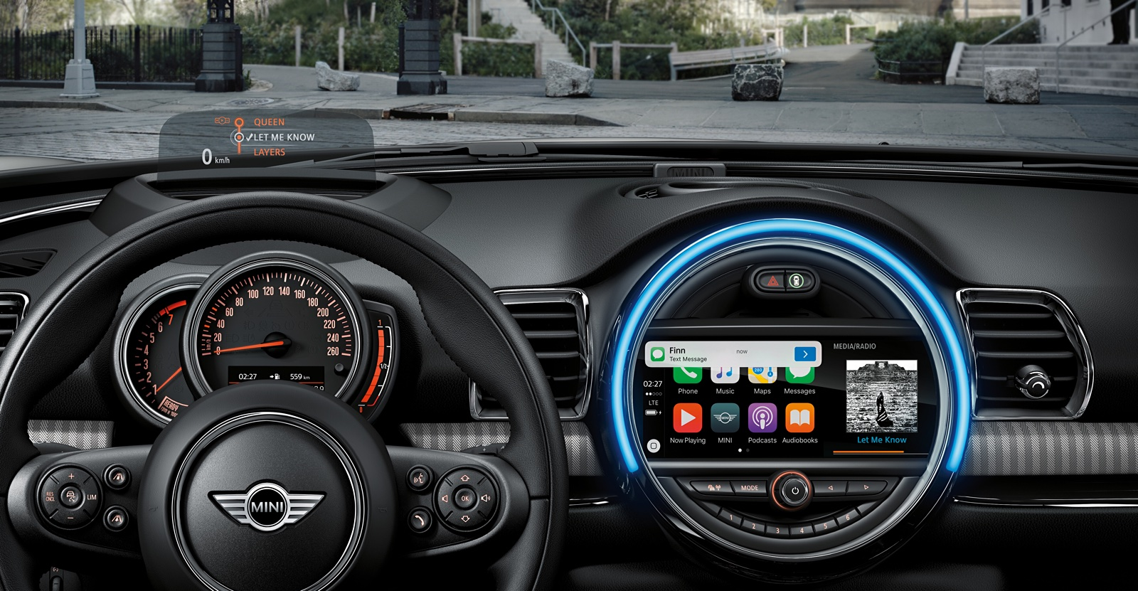 Beautiful New Fuel Gauge (way Better), Apple Carplay, Something With The Cockpit  Lights Changing From Orange To White (didnu0027t Catch That), MINI Driving  Modes Changed ...