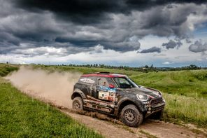 MINI JCW Rally Team Currently in 4th at the Silk Way Rally 2017