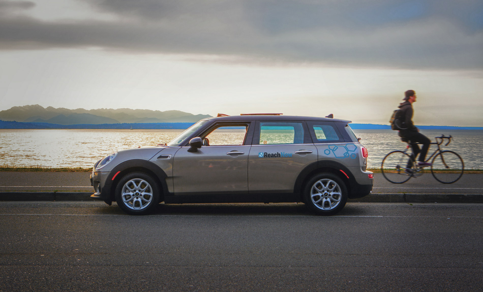 BMW & MINIs Car Sharing Service ReachNow Expands to the Portland