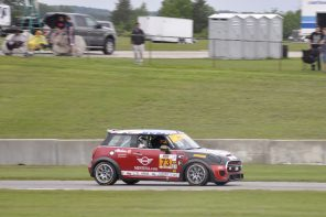MINI JCW Team Loses Out to the Rain and a Red Flag at Road America