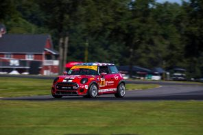 Race Recap:  MINI JCW Team Championship Hopes Take a Hit at VIR