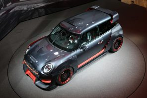 The MINI JCW GP Concept and MINI Electric Concepts Live at Frankfurt