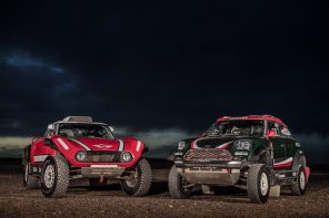 World Premier: The Dakar MINI JCW Buggy