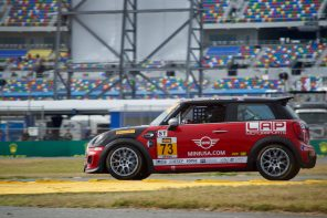 MINI JCW Team Perseveres Through Challenging Daytona