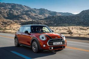 MINI Hardtop Awarded TOP SAFETY PICK by the IIHS