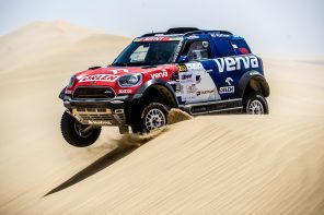 MINI Wins The Qatar Cross Country Rally