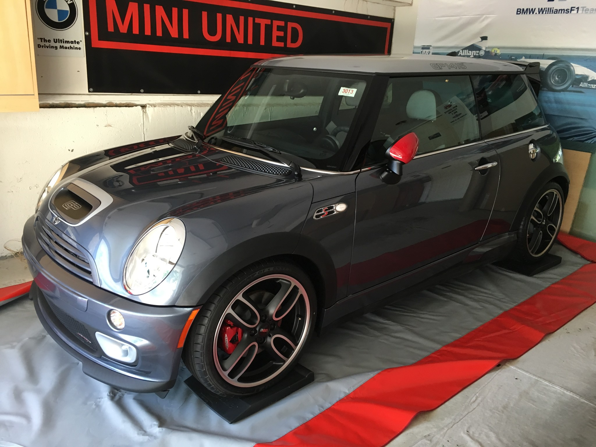 A Brand New 2006 Mini Jcw Gp Is For Sale Motoringfile