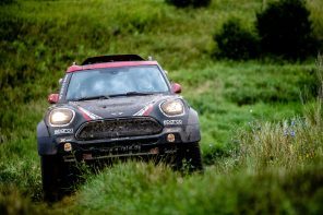 MINI Wins Silk Road Rally