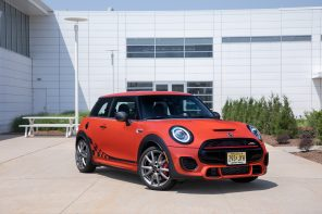 Premier: MINI JCW International Orange Edition