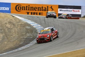 MINI JCW Team Looks to Increase Lead in Manufacturers Standings at Laguna Seca