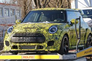 2020 JCW GP to Get Radical Carbon Fiber Boxed Fenders